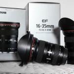 Super-Weitwinkelobjektiv von Canon