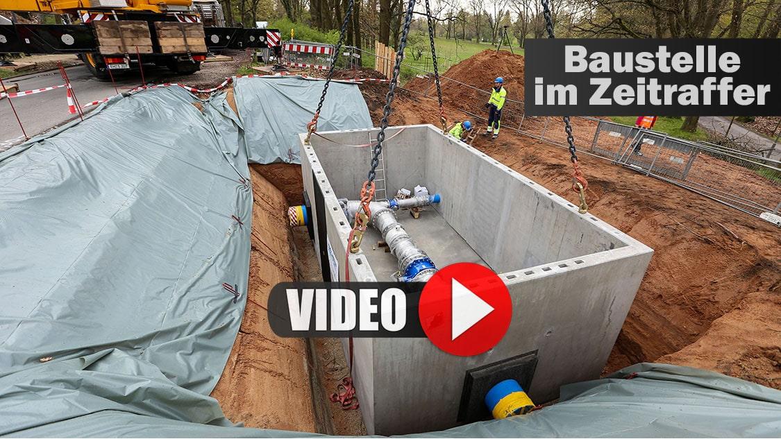 Baudokumentation: Baustelle als Zeitrafferfilm