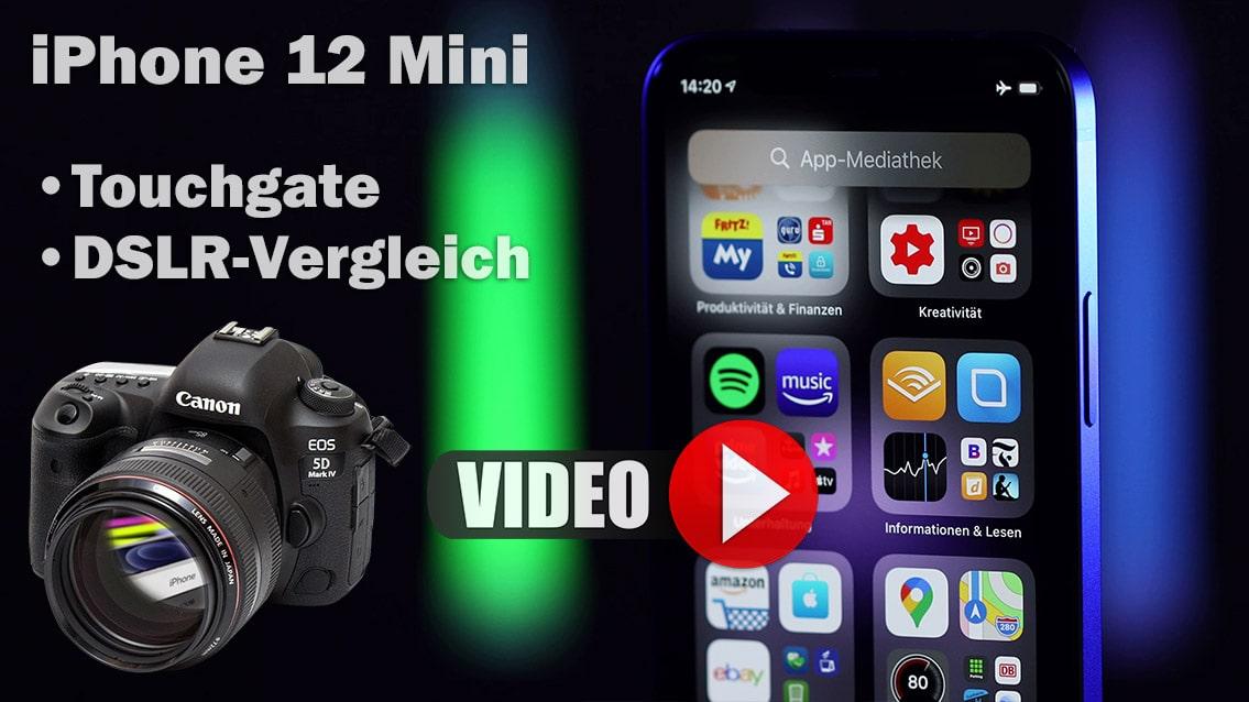 iPhone 12 Mini Test VS Canon 5D Mark IV + Touchgate