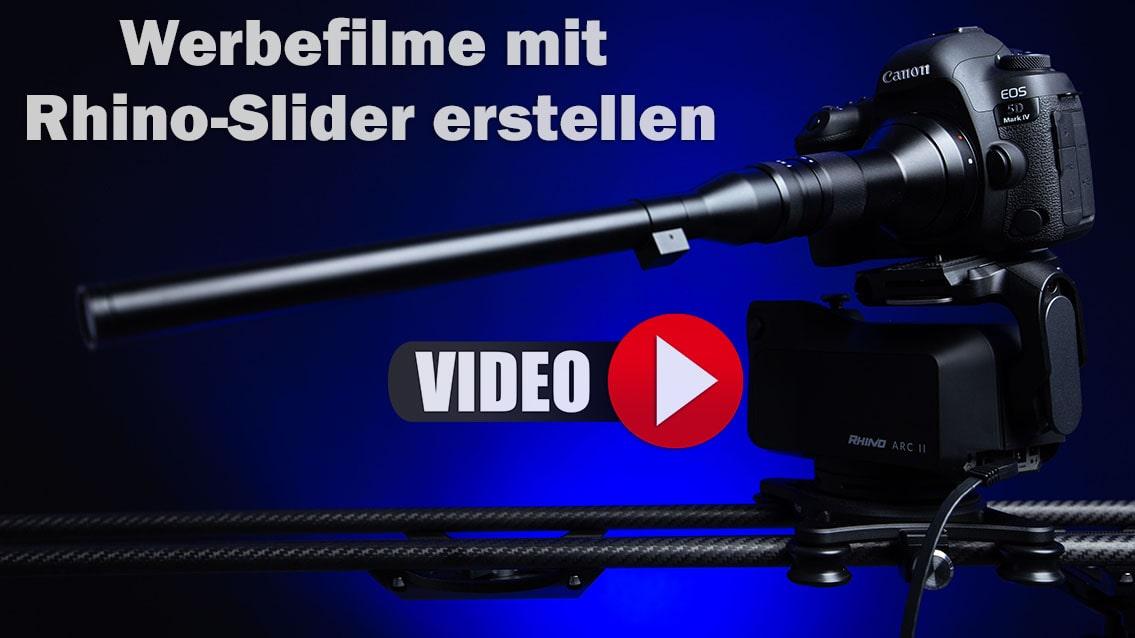 Werbefilme mit Rhino-Slider in Nürnberg erstellen