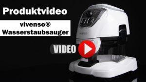 Produktvideo erstellen lassen: Wasserstaubsauger