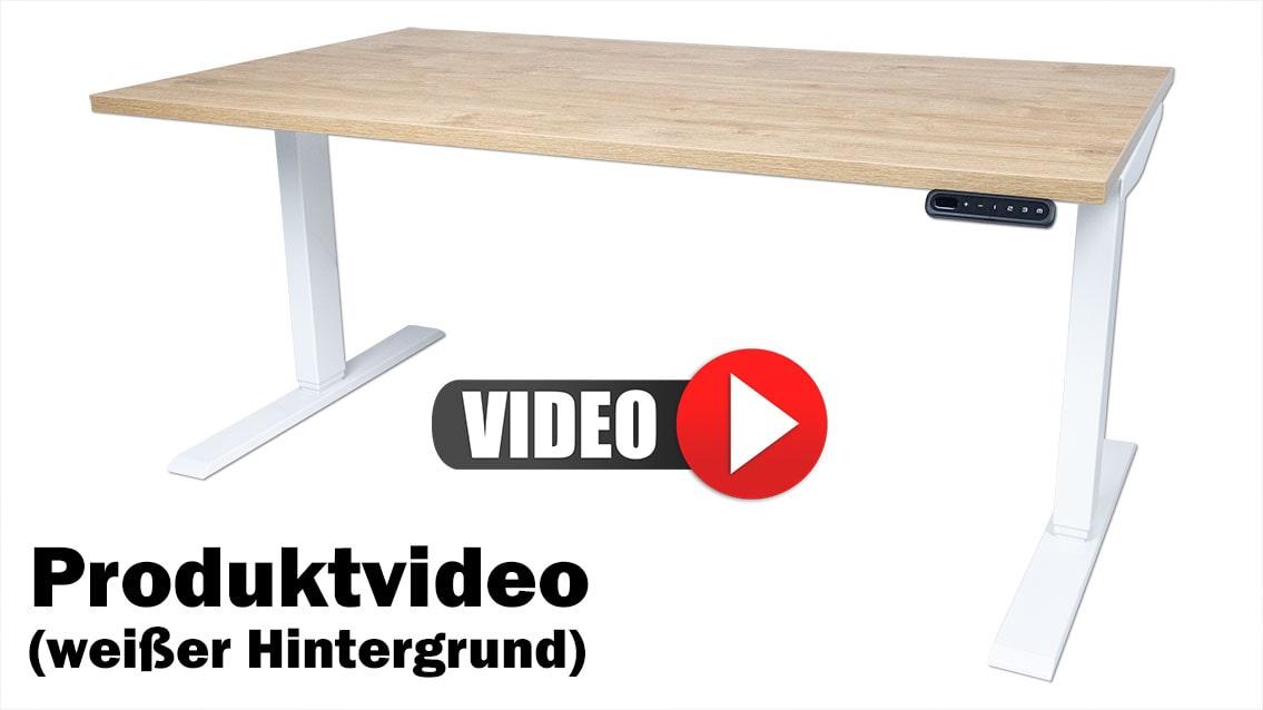 Produktvideo weißer Hintergrund